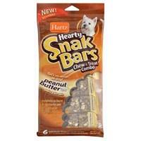 Hartz Snak Bars Fıstık Ezmeli Köpek Ödül Çubukları 6Li Paket