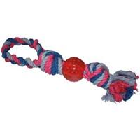 Happy Pet Hugs Rope & Ball Tugger Lagre Çekiştirme Köpek Oyuncağı