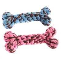 Happy Pet Handmade Kemik Şekilli Köpek Diş İpi 20 Cm