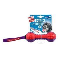 Push To Mute Ses Kontrollü Dambıl Köpek Oyuncağı 18 Cm