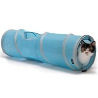 Sport Pet Designs Pop Open Kiity Tunnel Kedi Oyun Tüneli Mavi