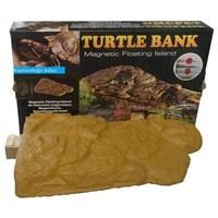 Kaplumbağa İçin Mıknatıslı Yüzen Ada
