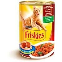 Friskies Yetişkin Kediler İçin Etli, Ciğerli Ve Sebzeli 400Gr.