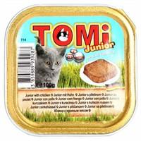 Tomi Yavru Kedi Konservesi Pate 100 Gr