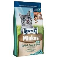 Happy Cat Minkas Mix Kuzulu Balıklı Kedi Maması 4Kg