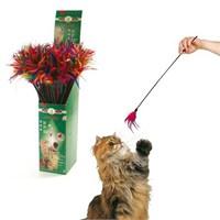 Karlie Kuş Tüyü Sallantılı Kedi Oltası 50Cm K46226