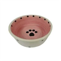 Lilli Pet Dog Bowl Paw Pati Desenli Mama Ve Su Kabı 20 Cm 8106