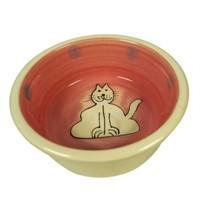 Lilli Pet Bowl Lonely Kedi Şekilli Kedi Mama Kabı 12,5 Cm 8144
