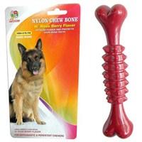 Percell Böğürtlen Aromalı Sert Plastik Köpek Kemik Oyuncağı 500-Hbn07brb