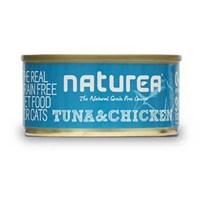 Naturea Tahılsız Ton Balığı Ve Tavuklu Kedi Konserve 80 Gr