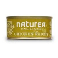 Naturea Tahılsız Tavuklu Ve Tavşanlı Kedi Konserve 80 Gr