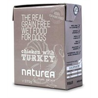Naturea Tahılsız Tavuk Ve Hindili Köpek Konserve 375 Gr