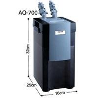 Aquanic Akvaryum Dış Filtre 615L/H 200-Aq700