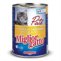 Miglior Gatto Tavuk Pate Kedi Konservesi 405Gr.