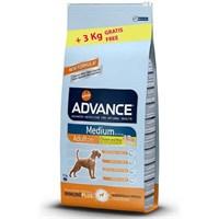 Advance Dog Medium Adult Orta Irk Yetişkin Köpek Maması 14 Kg + 3 Kg