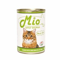 Mio Kuzu Etli Konserve Kedi Maması 415 Gr