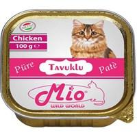 Mio Tavuk Etli Püre Kedi Konservesi 100 Gr