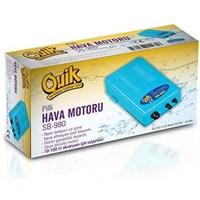 Quik Sb-980 Akvaryum Pilli Hava Motoru
