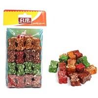 Flip Renkli Press Munchy Köpek Çiğneme Kemik 16 Lı 2,5 Cm