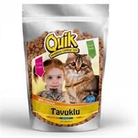 Quik Kedi Maması Tavuklu 500 Gr