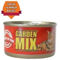 Gardenmix Jöle İçinde Tavuk Ve Ringa Balıklı Kedi Konservesi 85Gr