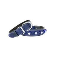 Doggie Comfort Nazar Boncuklu Deri Boyun Tasması 3,5X60 Cm Sbt-3523