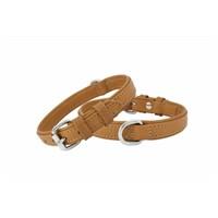Doggie Deri Köpek Boyun Tasma Kamel 1,5X40cm Fbt-1510