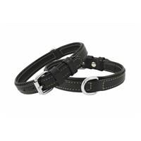Doggie Deri Tasma Siyah Köpek Boyun Tasması 2,0X40cm Fbt-2010S