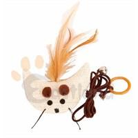 Eastland İpli Peluş Kedi Oyuncağı 8,5 cm