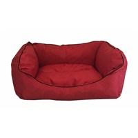 Leos Dış Mekan Küçük Ve Orta Irk Köpek Yatağı No:2 75 X 55 X 10 Cm Kırmızı
