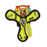 Tuffy Bumerang Kemik Suda Batmayan Dayanıklı Köpek Oyuncağı Sarı