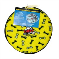 Tuffy Ultimate Flyer Suda Batmayan Dayanıklı Köpek Oyuncağı Sarı