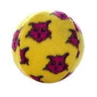 Tuffy Mighty Balls Medium Suda Batmayan Dayanıklı Köpek Oyuncağı Sarı