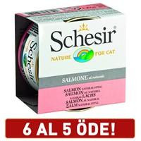 Schesir Somonlu Yetişkin Kedi Konservesi