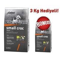 Golosi Croc Tavuklu Küçük Irk Yetişkin Kuru Köpek Maması 12 Kg + 3 Kg