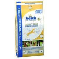Bosch Küçük Irk Kuzulu Ve Pirinçli Yetişkin Kuru Köpek Maması 3Kg