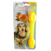 Percell Plastik Mango Aromalı Köpek Kemiği 11 Cm