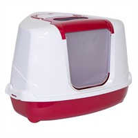 Moderna Flip Köseli Kedı Tuvaletı Kırmızı