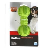 Karlie Kauçuk Köpek Oyuncağı Dumbbell 125 Cm Yeşil