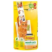 Friskies Indoor Tavuklu Yetişkin Kedi Maması 1.5 Kg
