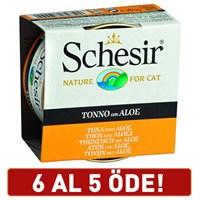 Schesir Ton Balıklı Ve Bitki Özlü Jelly Yetişkin Kedi Konservesi