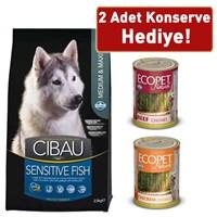 Cibau Sensitive Balıklı Orta Ve Büyük Irk Köpek Maması 2,5 Kg