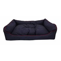 Leos Dış Mekan Büyük Irk Köpek Yatağı No:4 105X75x10cm Lacivert