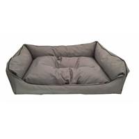 Leos Dış Mekan Büyük Irk Köpek Yatağı No:4 105X75x10cm Gri