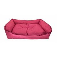Leos Dış Mekan Büyük Irk Köpek Yatağı No:4 105X75x10cm Pembe