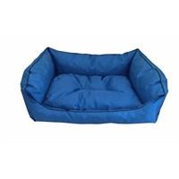 Leos Dış Mekan Büyük Irk Köpek Yatağı No:4 105X75x10cm Mavi