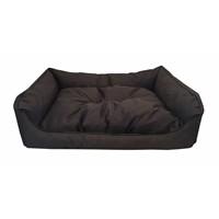 Leos Dış Mekan Büyük Irk Köpek Yatağı No:4 105X75x10cm Kahverengi