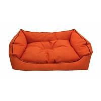 Leos Dış Mekan Orta Ve Büyük Irk Köpek Yatağı No:3 90X70x10cm Turuncu