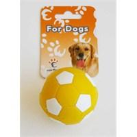 Eastland Kauçuk Sert Futbol Topu Köpek Oyuncağı
