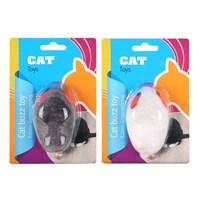Eastland Titreyen Peluş Fare Kedi Oyuncağı 10 Cm